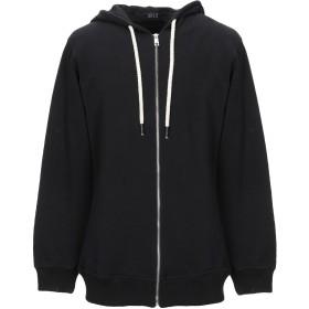 《期間限定セール開催中!》GFLS メンズ スウェットシャツ ブラック L コットン 100%