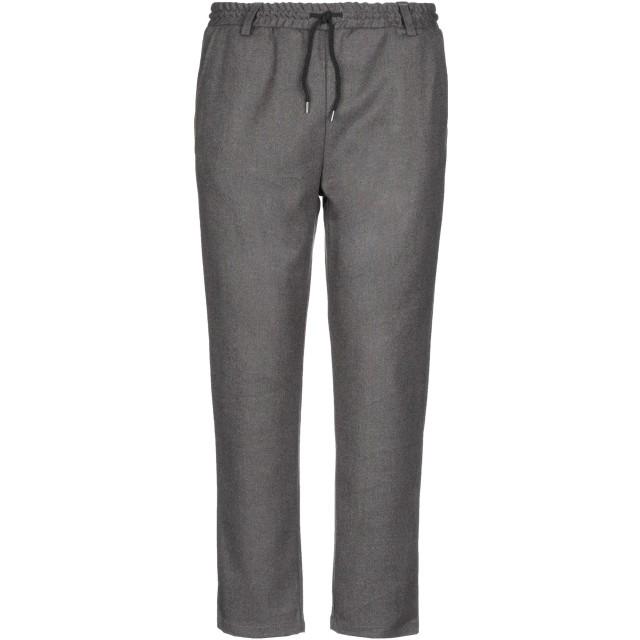 《期間限定セール開催中!》ANERKJENDT メンズ パンツ 鉛色 L ポリエステル 70% / レーヨン 28% / ポリウレタン 2%