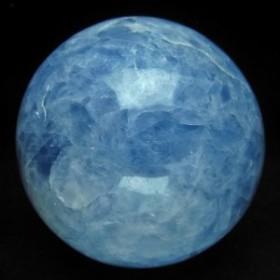 2.1Kg ブルーカルサイト 丸玉 スフィア 116mm [送料無料] 161-141