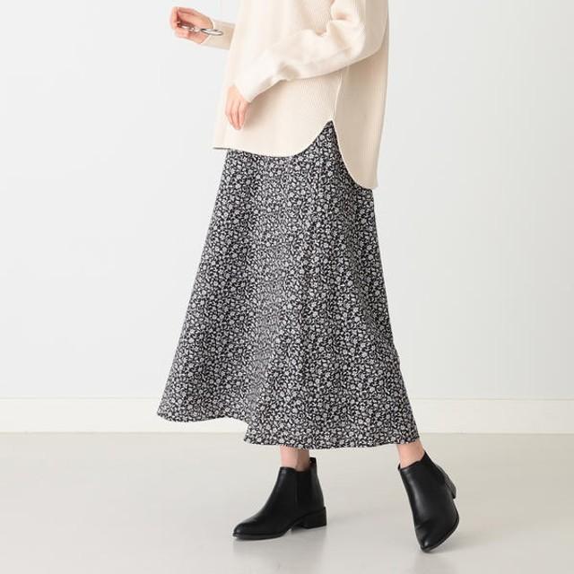 [マルイ]【セール】B:MING by BEAMS / フラワープリント Aラインスカート 19AW/ビーミングライフストア(レディース)(Bming lifestore W)