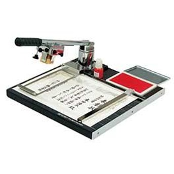 サンビー 捺印器 プッシュタンプ 捺印器セット