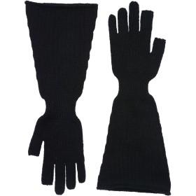 《送料無料》RICK OWENS メンズ 手袋 ブラック 6 バージンウール 100%