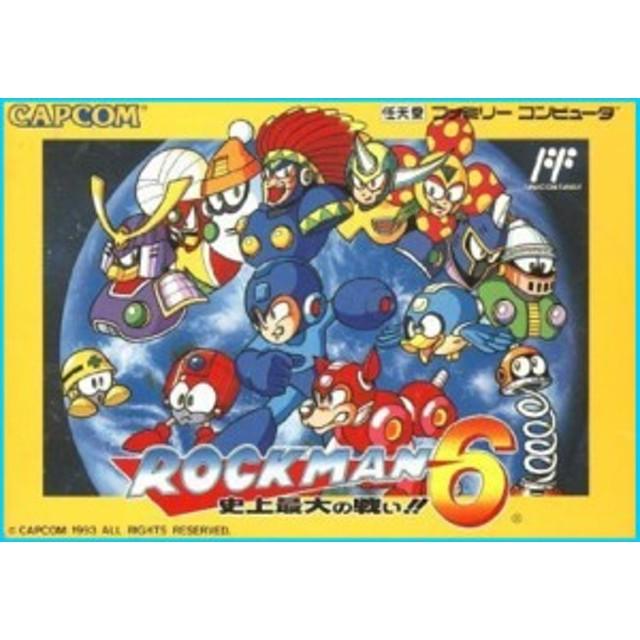 カプコン ロックマン6 Nintendo Entertainment System