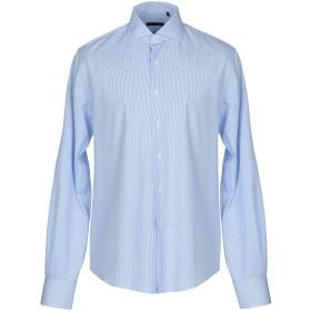 《セール開催中》BRIATORE メンズ シャツ スカイブルー 45 コットン 100%