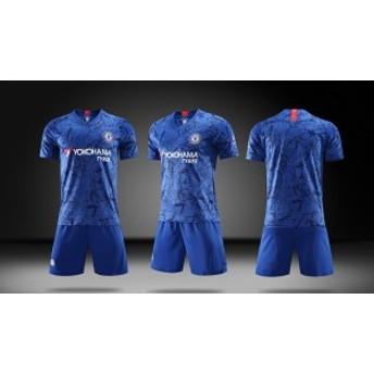 チェルシー 2019/2020年 ホーム 上下着 子供用半袖 ノーブランド品のサッカーユニフォーム