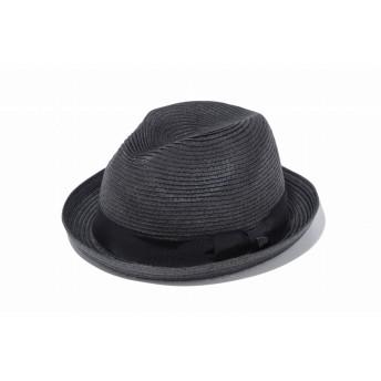 NEW ERA ニューエラ フェドーラ グログランバンド ブラックペーパーロープ 中折れハット ハット 帽子 メンズ レディース L (59cm) 11901139 NEWERA