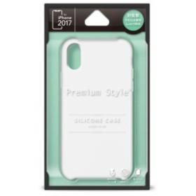 e924d5efc7 PGA PG-17XSC02WH iPhone X用 シリコンケース ホワイト