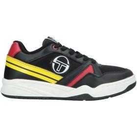 《期間限定 セール開催中》SERGIO TACCHINI メンズ スニーカー&テニスシューズ(ローカット) ブラック 44 革 / 紡績繊維 / ゴム