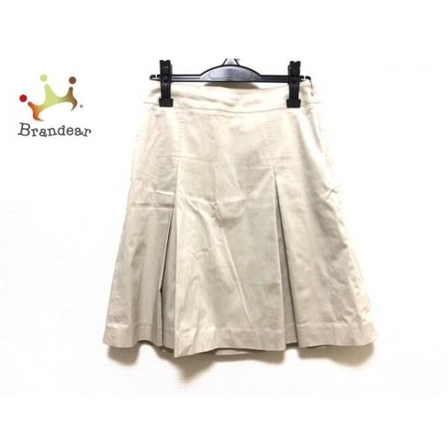 ニジュウサンク 23区 スカート サイズ38 M レディース 美品 アイボリー   スペシャル特価 20190917
