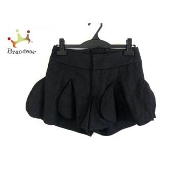 ドレスキャンプ DRESS CAMP ショートパンツ レディース 黒×シルバー ラメ スペシャル特価 20190910