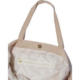 トートバッグ - SPINNS 巾着型 コットントートプリントトートバッグ