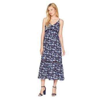 セセ レディース ワンピース トップス V-Neck Ivy Forest Maxi Dress Bluebird