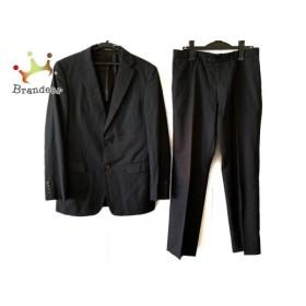 コムサメン COMME CA MEN シングルスーツ サイズ48F メンズ ダークネイビー×ライトグレー   スペシャル特価 20190911