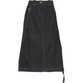 《セール開催中》MURPHY & NYE レディース 7分丈スカート ブラック 27 コットン 100%