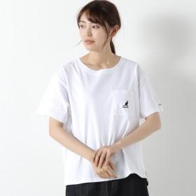 KANGOLポケット付刺繍Tシャツ