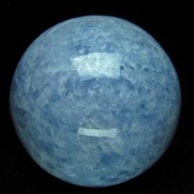 3.9Kg ブルーカルサイト 丸玉 スフィア 145mm [送料無料] 161-149