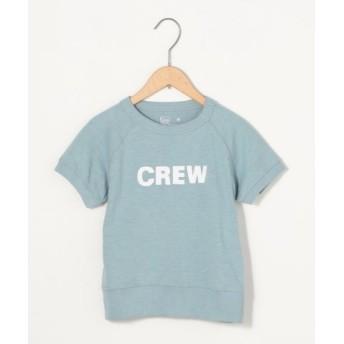 (coen/コーエン)【coen キッズ/ジュニア】コーエン university team Tシャツ/レディース LTBLUE