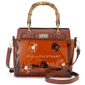 【公式/JILL by JILLSTUART】バンブーフラワークリアバッグ/女性/バッグ・その他/ブラウン/サイズ:FR/