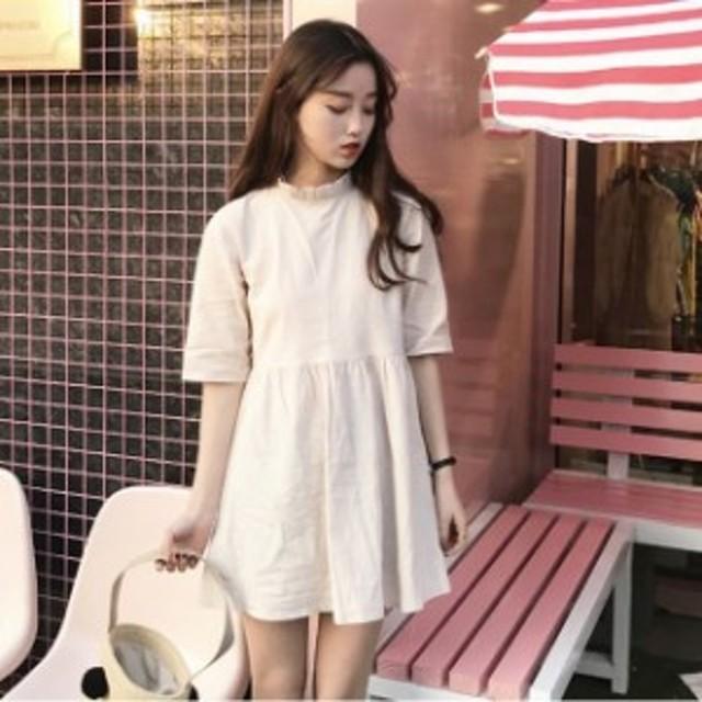 ワンピース ミニ丈 ワンピースドレス ミニワンピース 韓国 ミニワンピース レディース ワンピース ミニ ミニワンピース 大きいサイズ 5