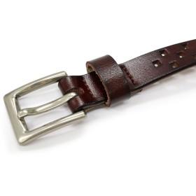 ベルト - Whap & Whab 牛革を使用した高級感のある本革ベルト be-0102 本革 牛革 ビジネス フォーマル おしゃれ キャメル ダークブラウン ブラック