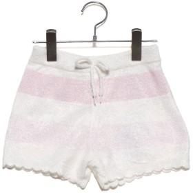 ジェラートピケ gelato pique 【KIDS】スムーズィーグラデーションボーダー kids ショートパンツ (ピンク)
