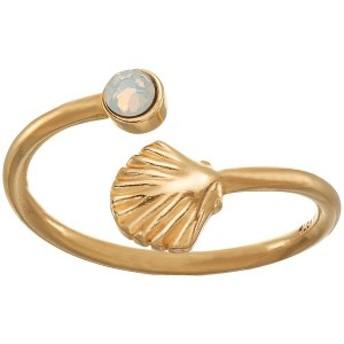 アレックスアンドアニ レディース リング アクセサリー Shell Wrap Ring Gold