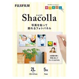 FUJIFILM 写真パネル shacolla シャコラ 5枚入 WD KABE-AL 5P[WD KABE-AL 2L 5P](2L)