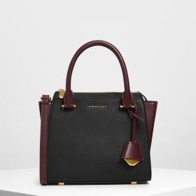 【再入荷】トップハンドル トラペーズバッグ / Top Handle Trapeze Bag (Black)