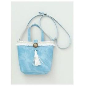 【Kahiko】SEAコンチョミニショルダーバッグ ブルー