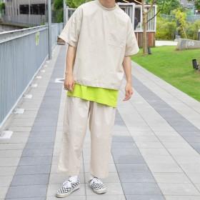 Tシャツ - kutir 【kutir】リブネックスソドロストTシャツ