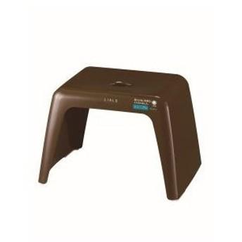 リアロ 風呂イス25 ブラウン 37.6×26.7×25.5cm