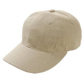 【Super Sports XEBIO & mall店:帽子】メンズ プレーンキャップ 3 897PA9ST1649 BEG