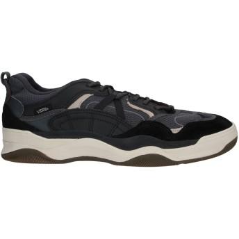 《期間限定セール開催中!》VANS メンズ スニーカー&テニスシューズ(ローカット) ブラック 10.5 革 / 紡績繊維