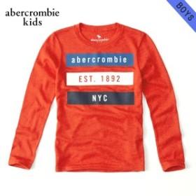 アバクロキッズ Tシャツ ボーイズ 子供服 正規品 AbercrombieKids 長袖Tシャツ  long-sleeve sweater knit tee 223-616-0035-050