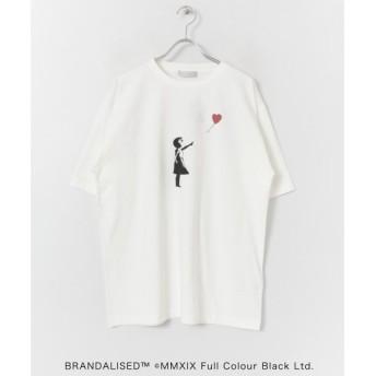 SENSE OF PLACE by URBAN RESEARCH / センスオブプレイス バイ アーバンリサーチ 別注Tシャツ バンクシー Balloon Girl