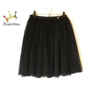 ドゥーズィエム DEUXIEME CLASSE スカート サイズ38 M レディース 美品 黒 レース 新着 20190605