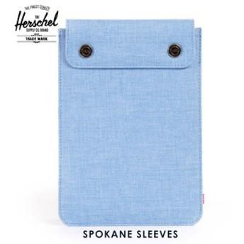 ハーシェル Herschel iPad Mini ケース Spokane Sleeve for iPad Mini Sleeves 10191-00574-OS Chambray Crosshatch