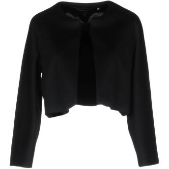 《セール開催中》ASPESI レディース テーラードジャケット ブラック 44 ウール 100%