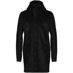 《期間限定セール開催中!》PATRIZIA PEPE メンズ コート ブラック 48 ポリエステル 100%