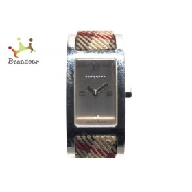 バーバリー Burberry 腕時計 BU1015 レディース 革ベルト ベージュ  値下げ 20190721