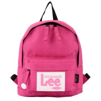 LEE LeeビッグワッペンEリュックサックSサイズ ピンク