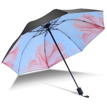 晴雨兼用ミニ 日傘 オシャレなデザイン!UVカット、耐風仕様のハイスペック品折りたたみ傘 レディース 傘 uvカット 遮光 遮熱 丈夫 耐風 撥水 手開き 雨傘 雨具 レイングッズ 折り畳み