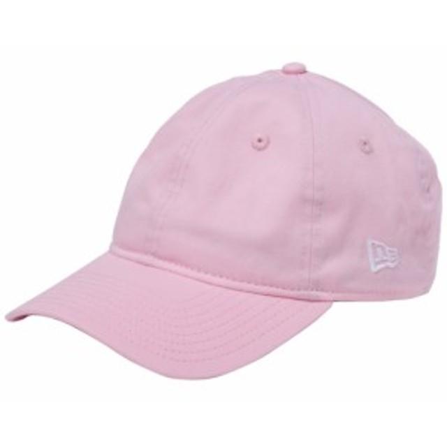 【新品】ニューエラ 930キャップ ウォッシュドコットン クローズストラップ ツートーンカラーストラップ ピンク ホワイト New Era NewEra