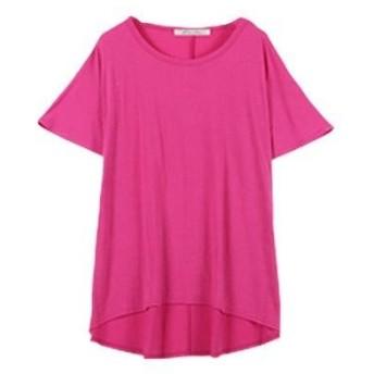 コウベレタス KOBE LETTUCE 落ち感がキレイなゆるシルエTシャツ 【ドルマン】(ピンク)