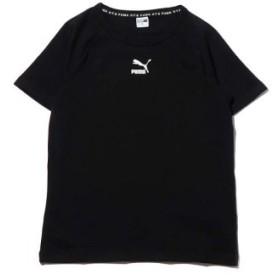(atmos/アトモス)プーマ XTG グラフィック ショートスリーブ ティーシャツ/レディース ブラック