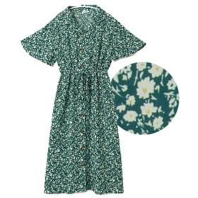 [マルイ] 2way開襟半袖シャツワンピース/ハッピーマリリン(大きいサイズ)(AHAPPYMARILYN)