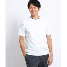 TAKEO KIKUCHI / タケオキクチ 【 WEB限定 】 フェイクレイヤード 半袖 カットソー