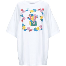 《セール開催中》VIVETTA レディース T シャツ ホワイト 36 コットン 100%