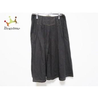 ホコモモラ JOCOMOMOLA ロングスカート サイズ42 L レディース ダークブラウン スペシャル特価 20190912