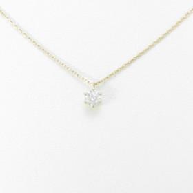 【新品】K18YG ダイヤモンドネックレス 0.235ct・H・SI2・VG